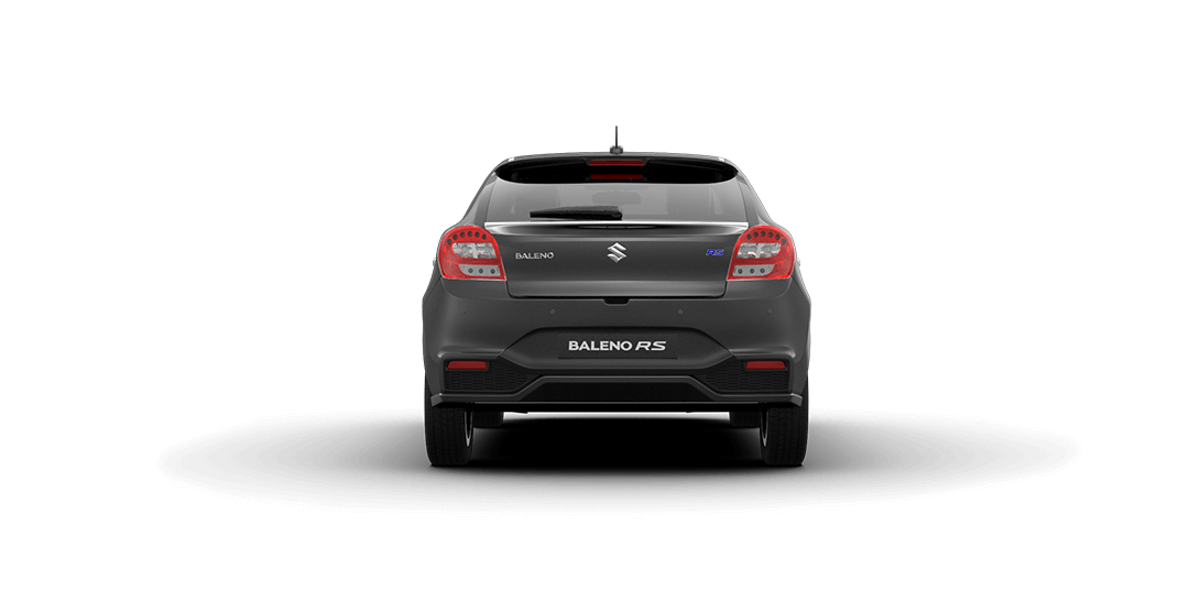 Baleno RS Grey Car back View