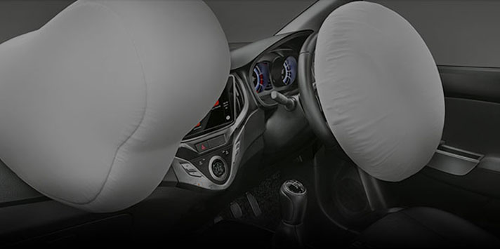 Baleno RS safety airbag features